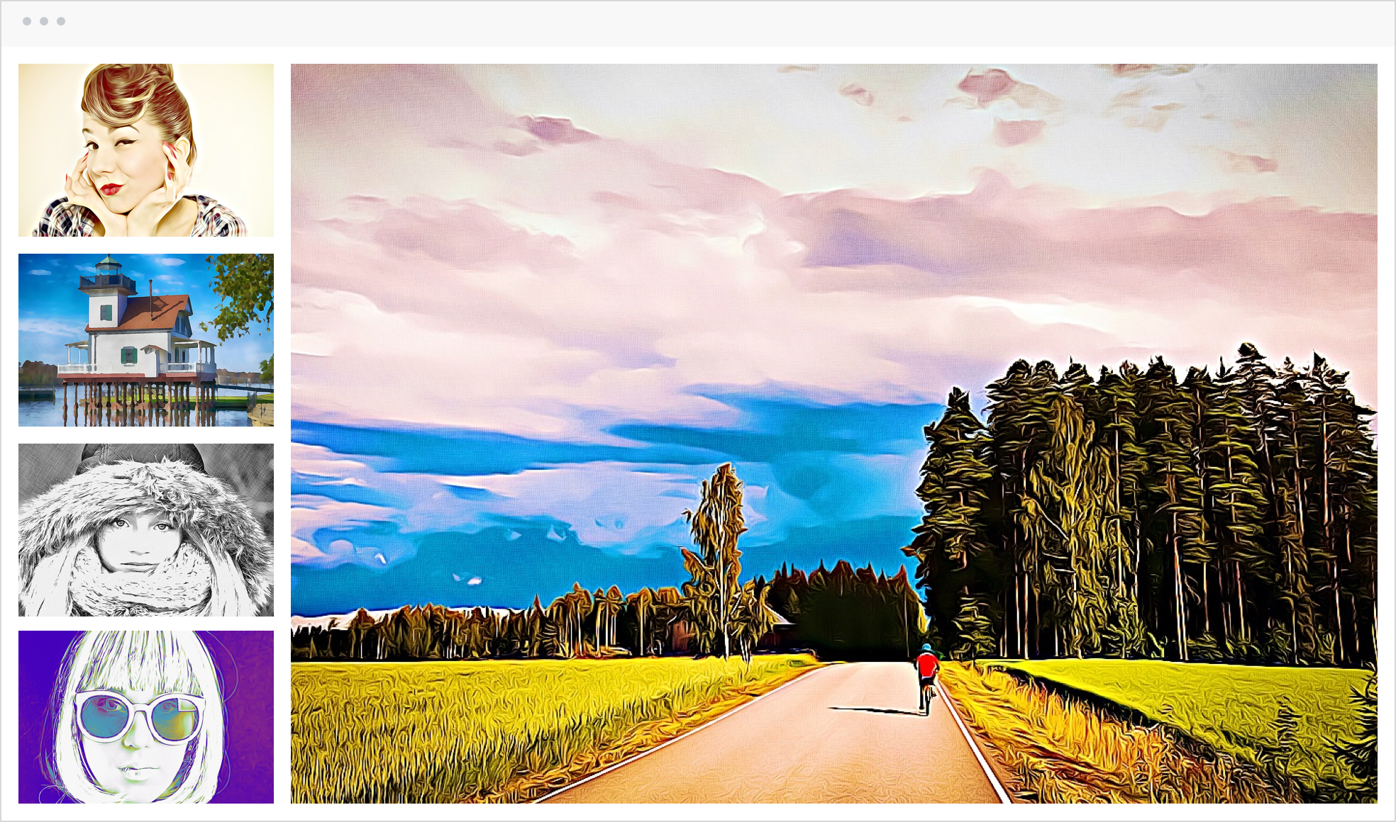 Turning Landscape Pictures Into Cool Art