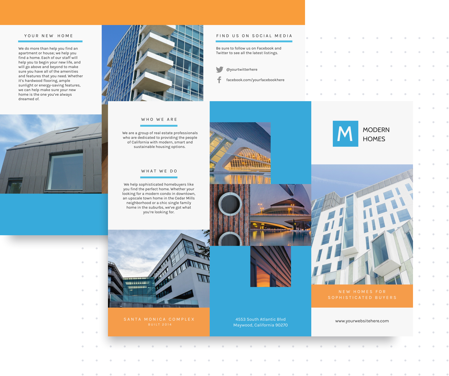 Brochure Maker   BeFunky: Free Online Brochure Templates