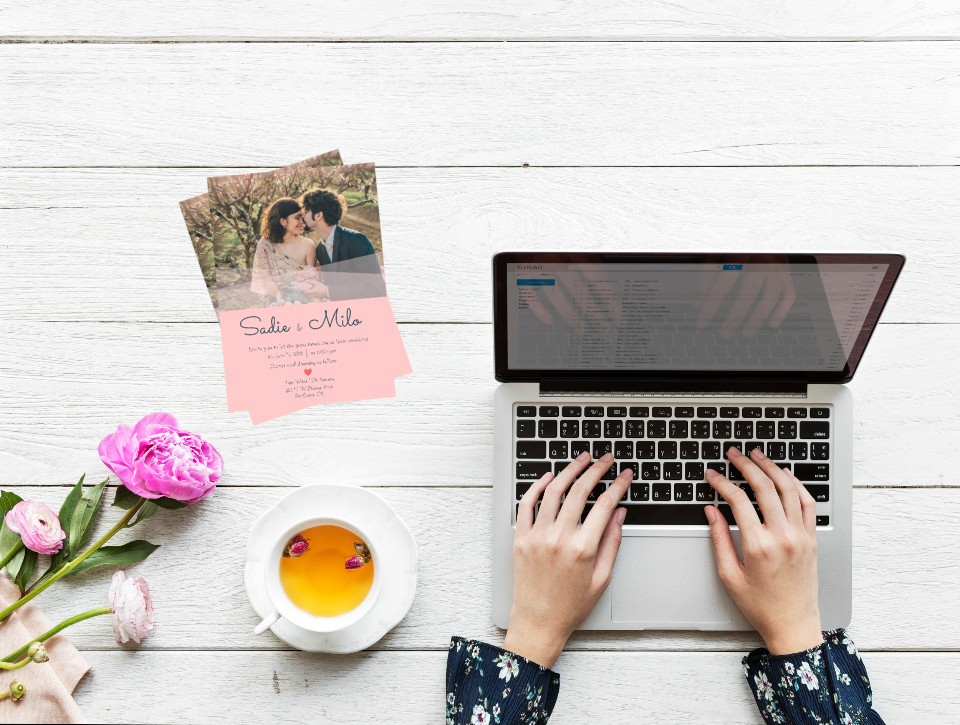 Your Guide To Diy Wedding Invites With Templates Learn