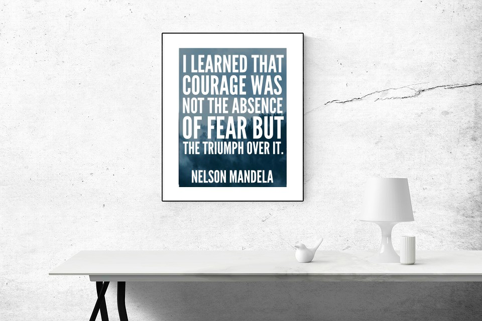 Welcome When You Enter This Inspirational Quote Beleive Motivation Poster Photo
