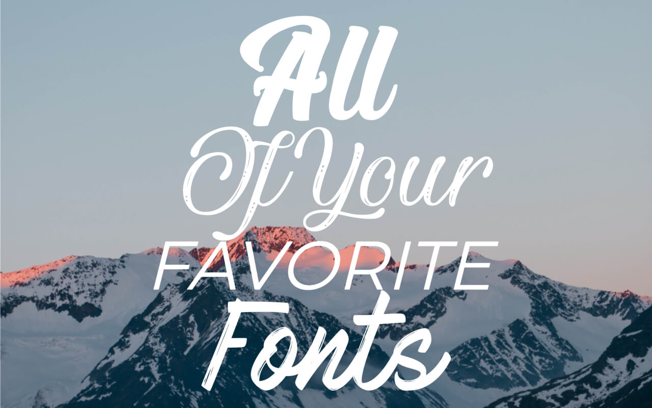 how to add your own fonts in BeFunky