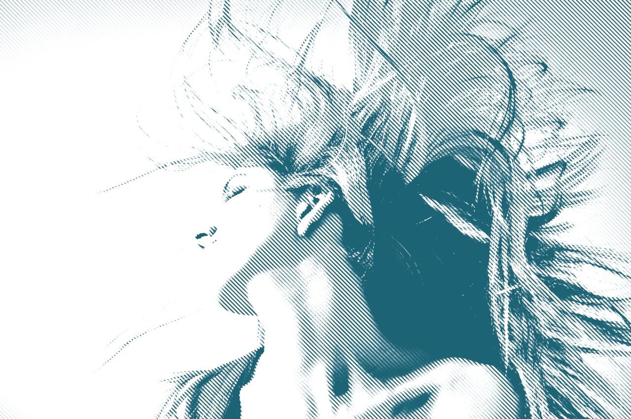 glitch photo effects by BeFunky