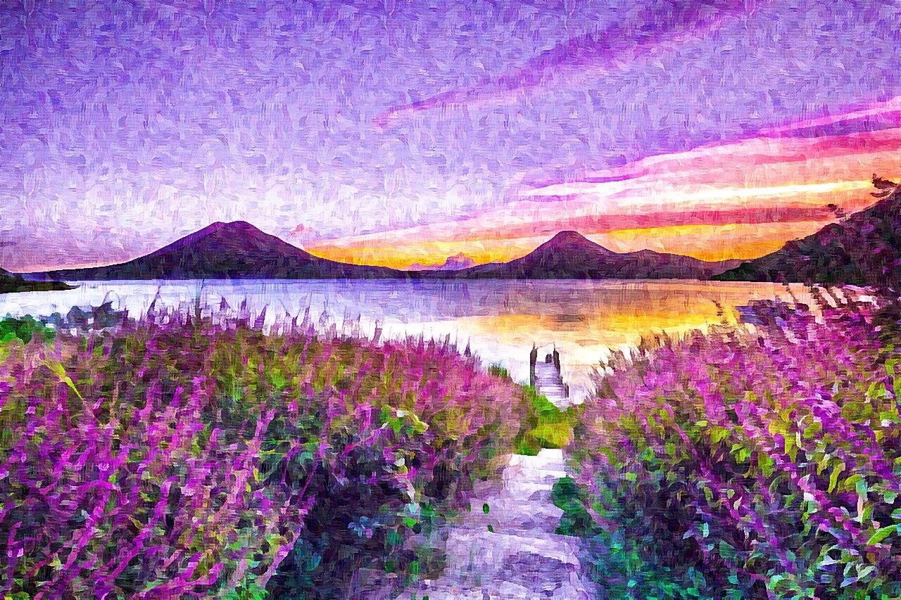 photo to impressionist painting