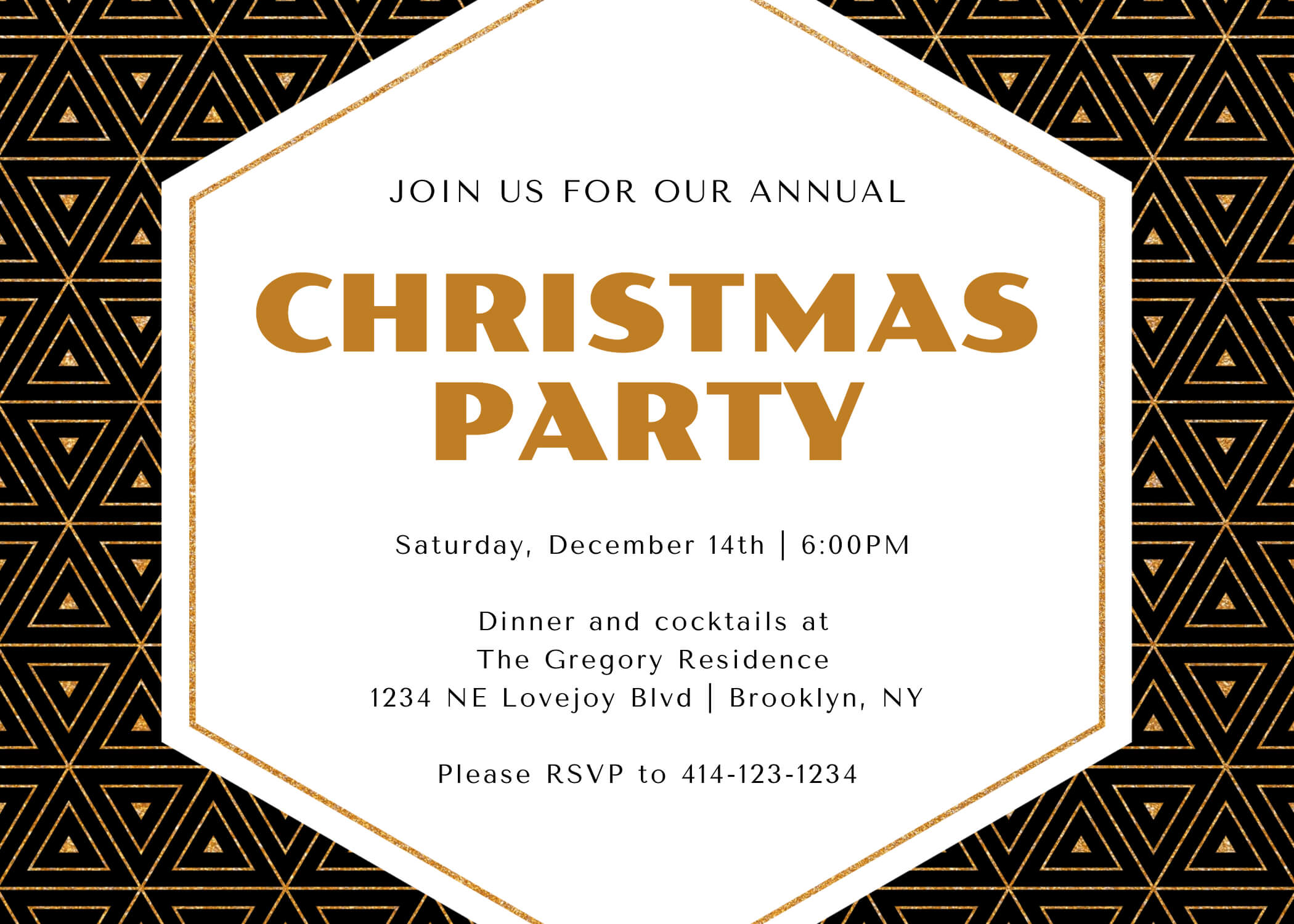 The Perfect Holiday Party Invitations